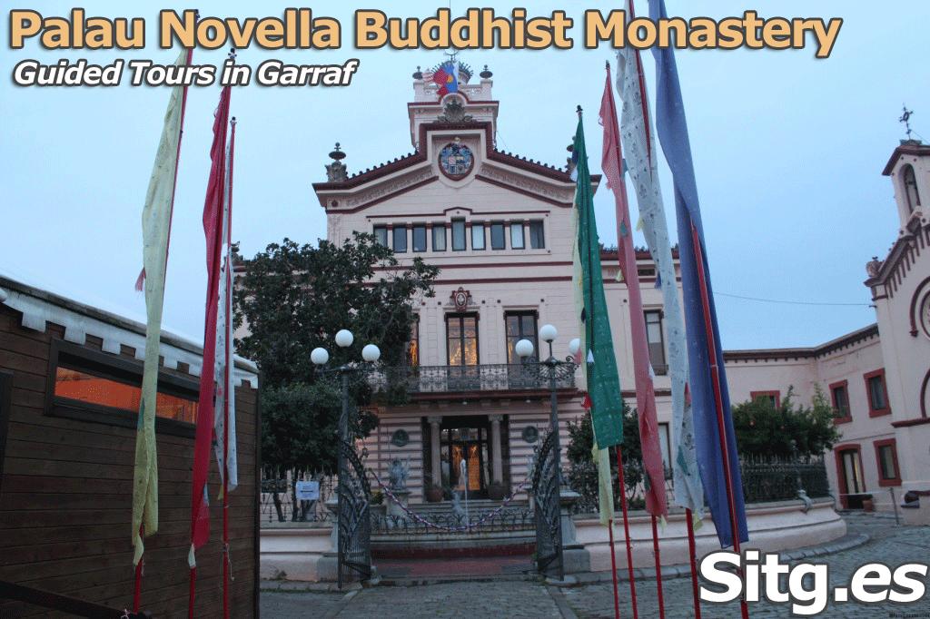 Palau Novella Buddhist Monastery Tour