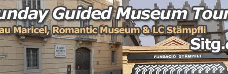 Sitges Museum Museu Sunday Tours Palau Maricel, Romantic Museum & LC Stämpfli