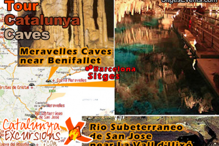 Tour Caves near to Sitges